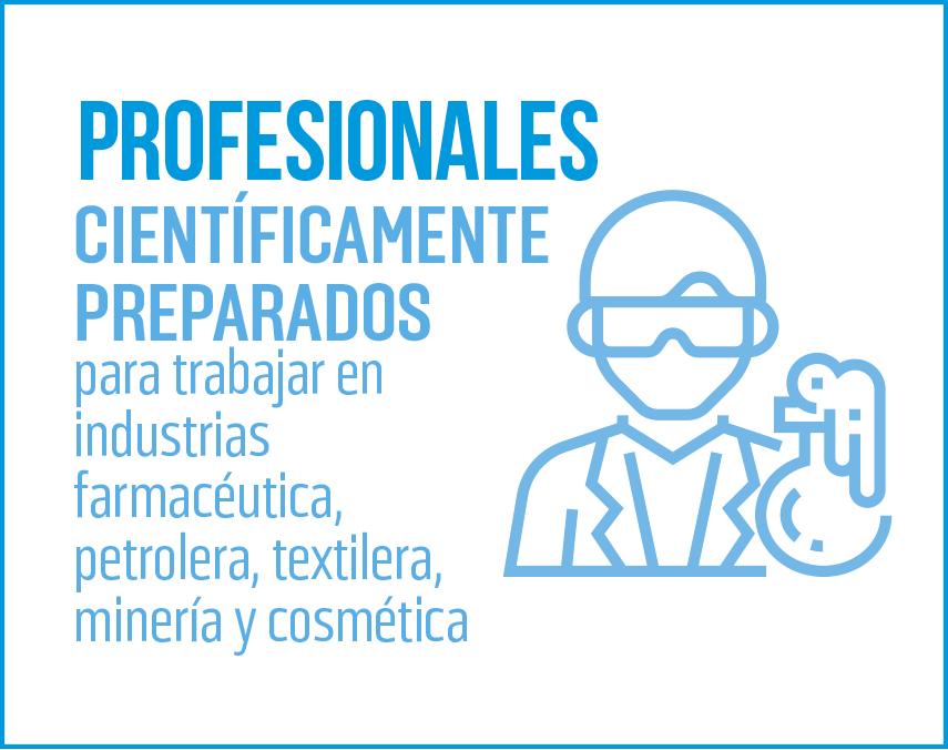 Banner sobre profesionales científicamente preparados