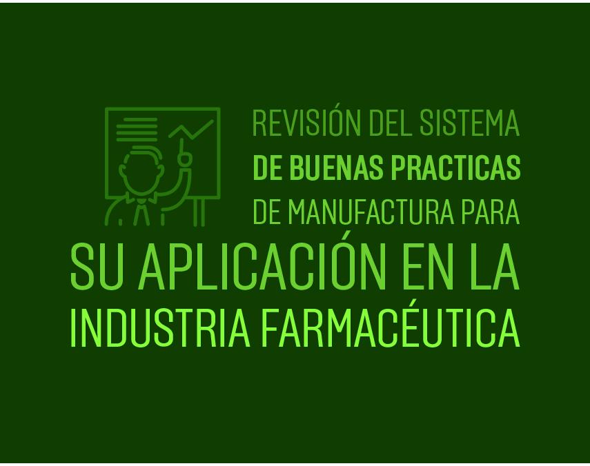 Banner de Maestría en Manufactura Farmacéutica