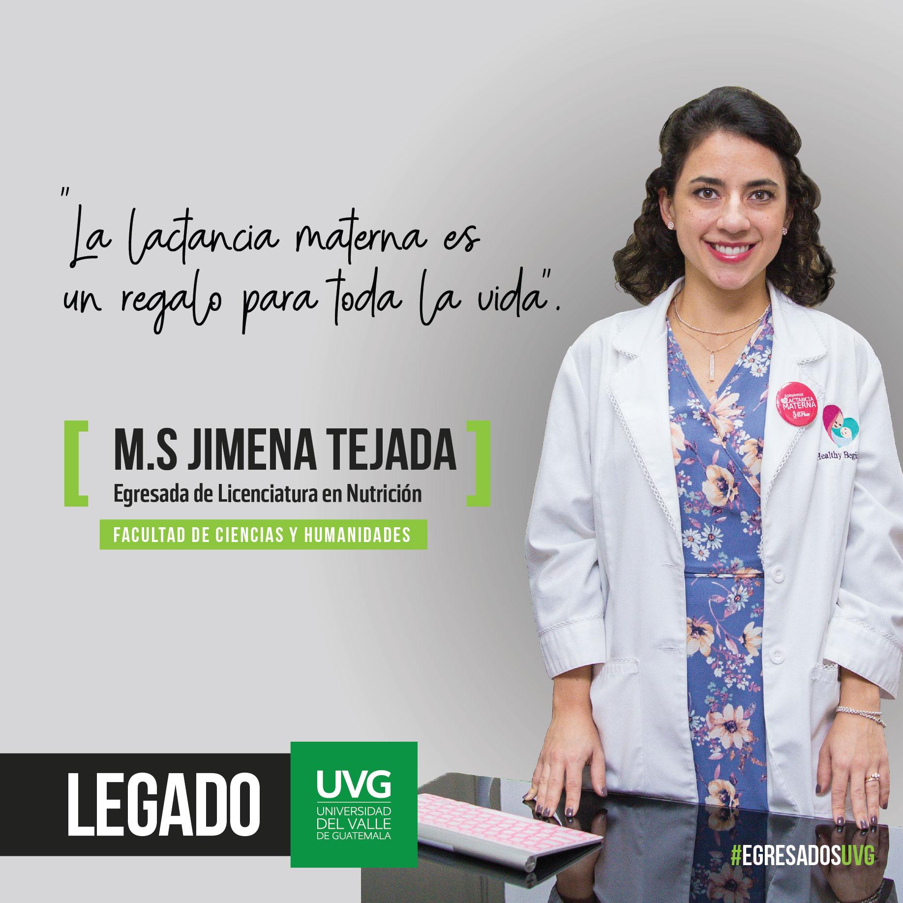 Legado UVG M.S Jimena Tejada