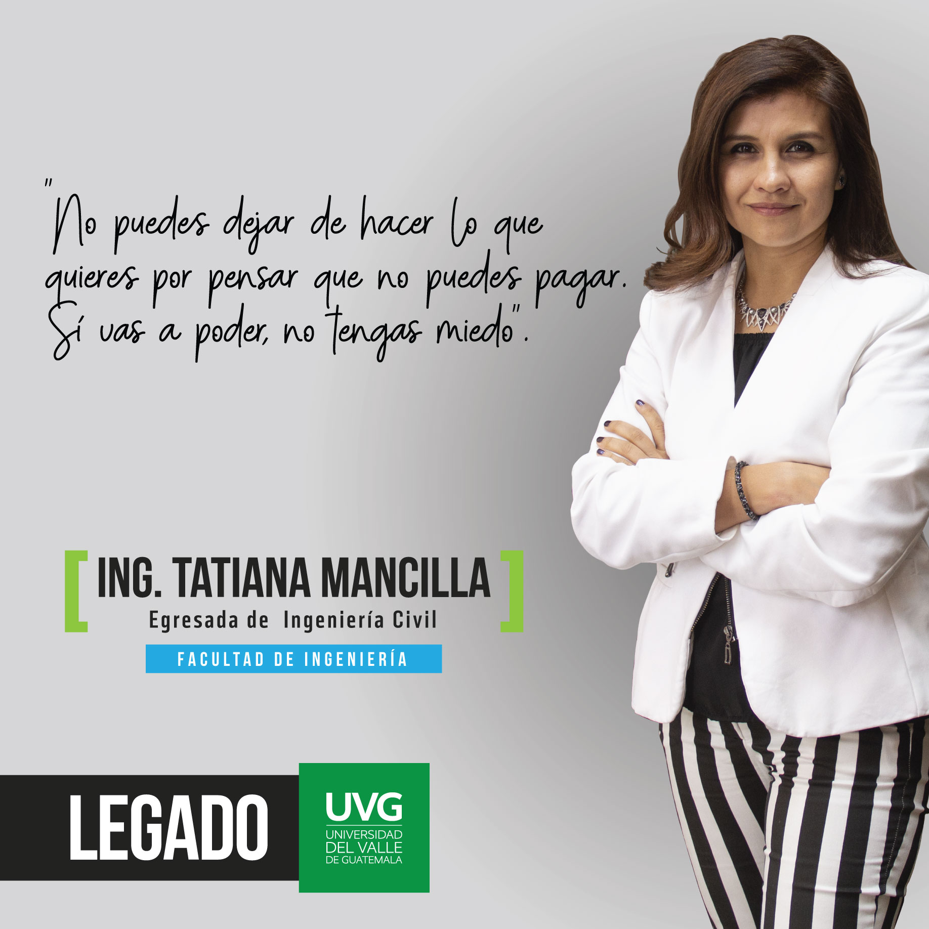 Legado UVG Ing. Tatiana Mancilla