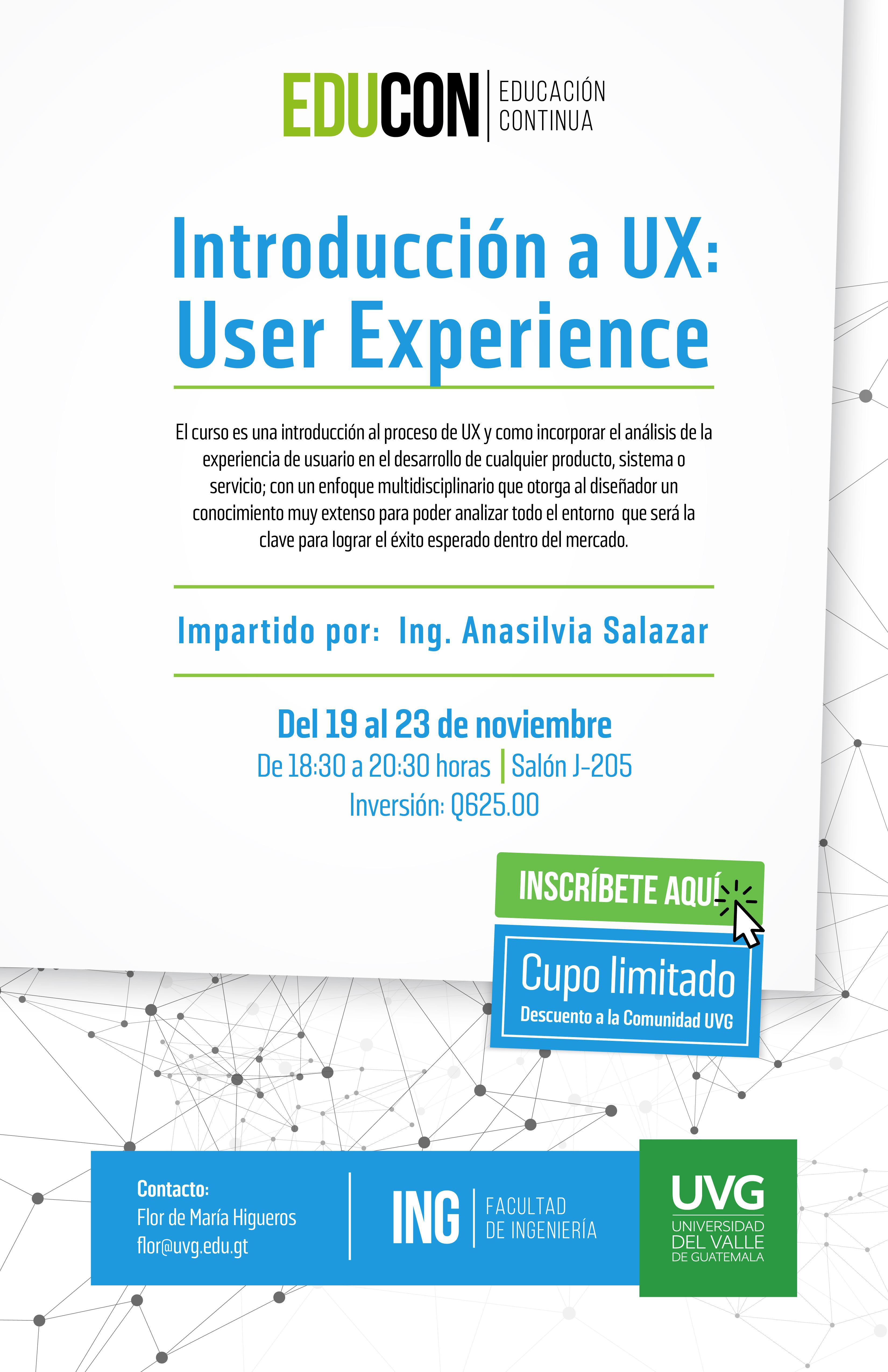 Introducción a UX: User Experience