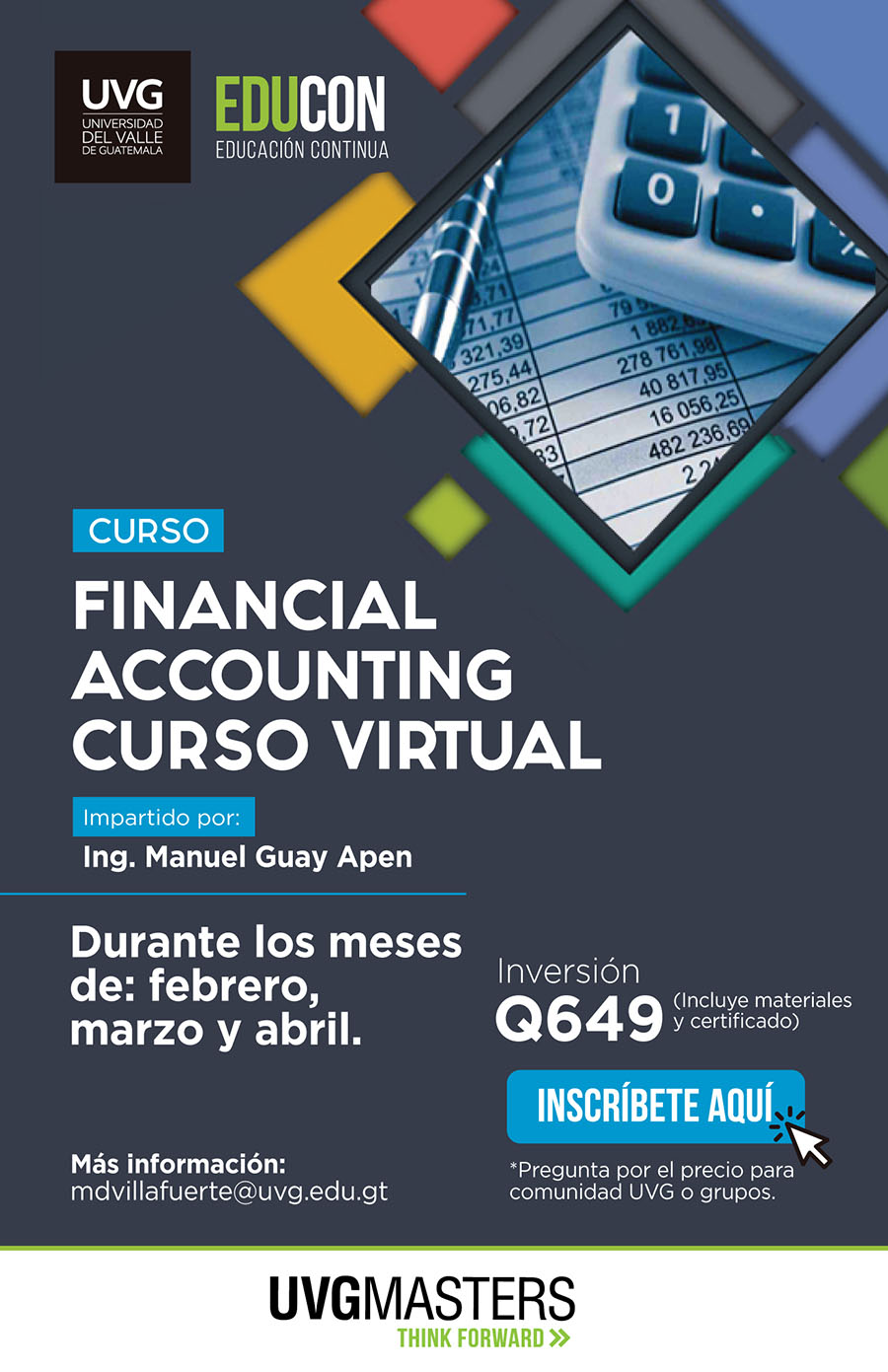 Financial Accounting, curso virtual