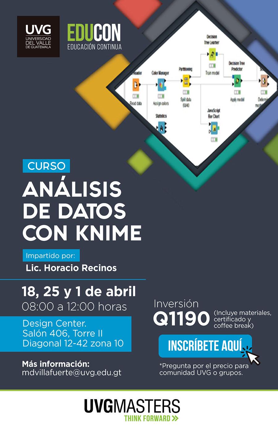 Análisis de datos con KNIME