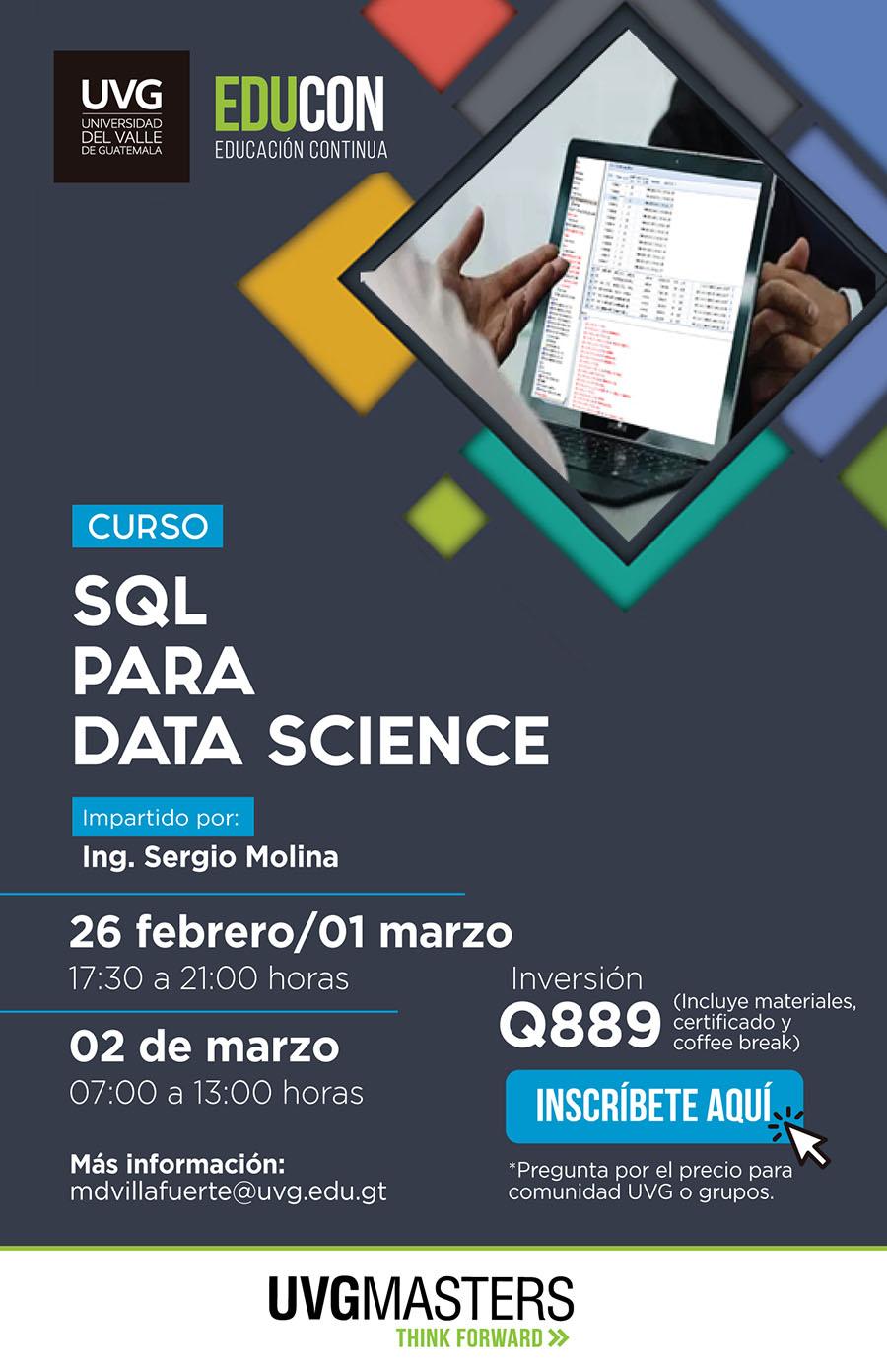 SQL para Data Science
