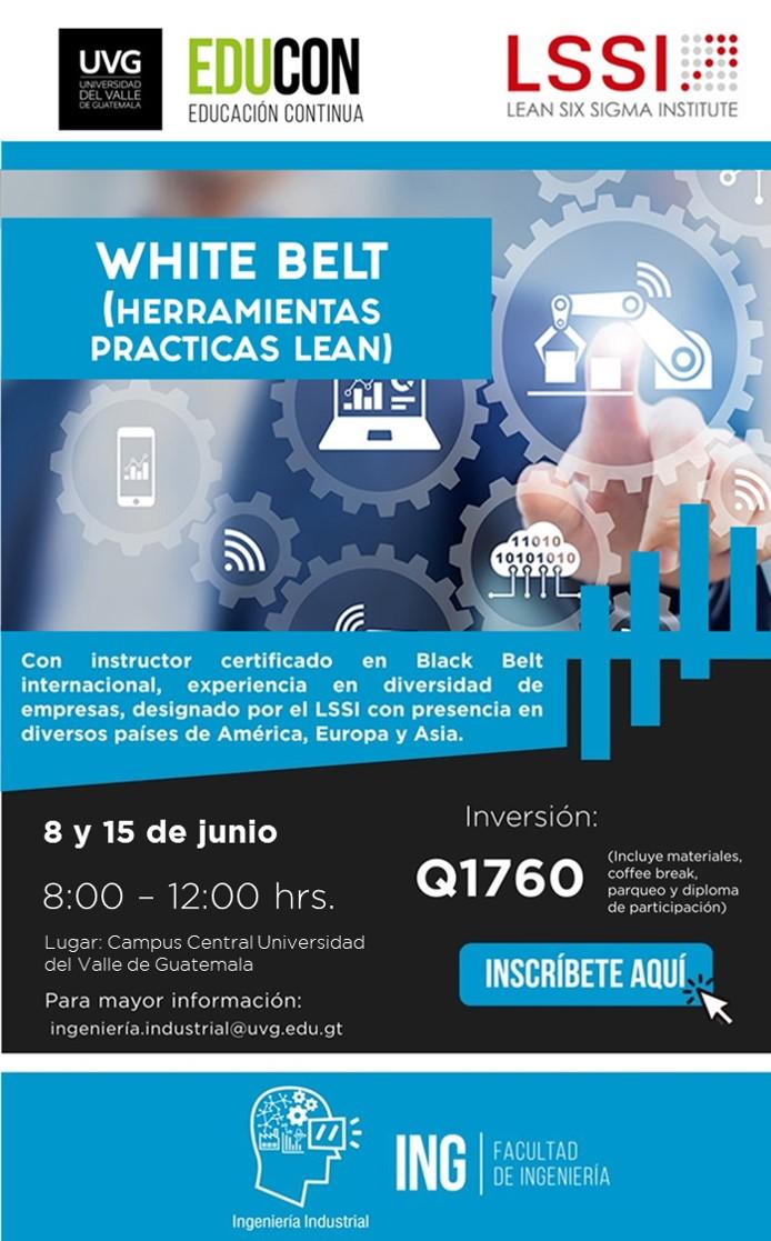 WHITE BELT HERRAMIENTAS PRÁCTICAS LEAN