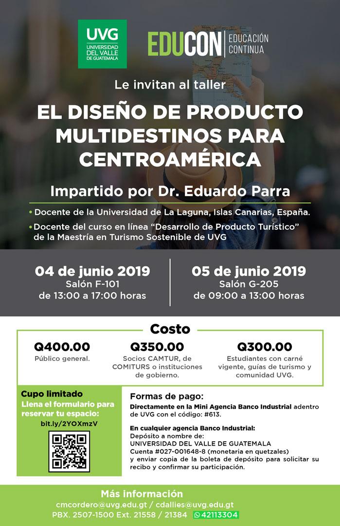 DISEÑO DE PRODUCTOS MULTIDESTINOS PARA C.A