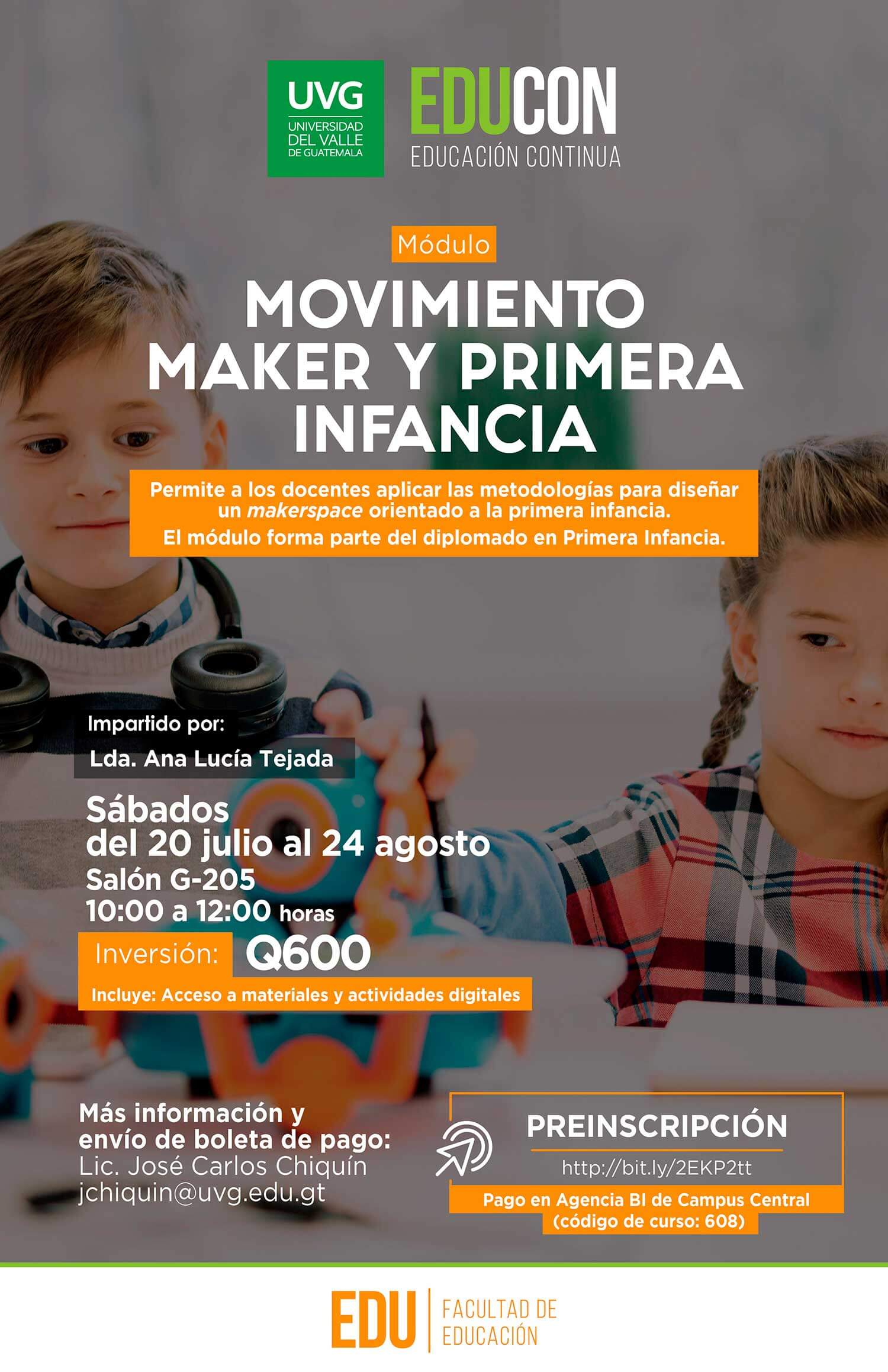 MOVIMIENTO MAKER Y PRIMERA INFANCIA