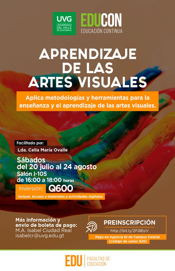 APRENDIZAJE DE LAS ARTES VISUALES