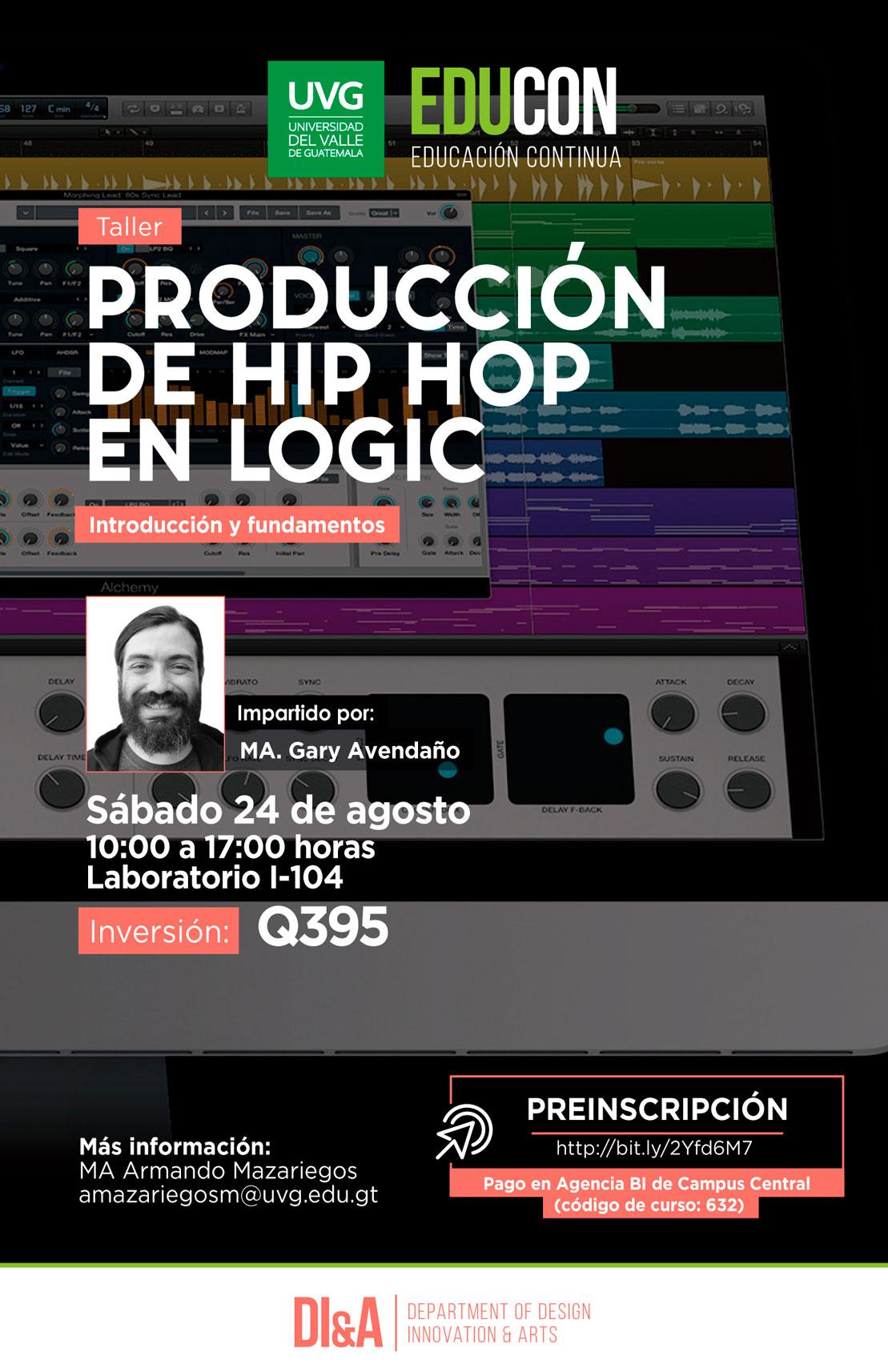 PRODUCCIÓN DE HIP HOP EN LOGIC