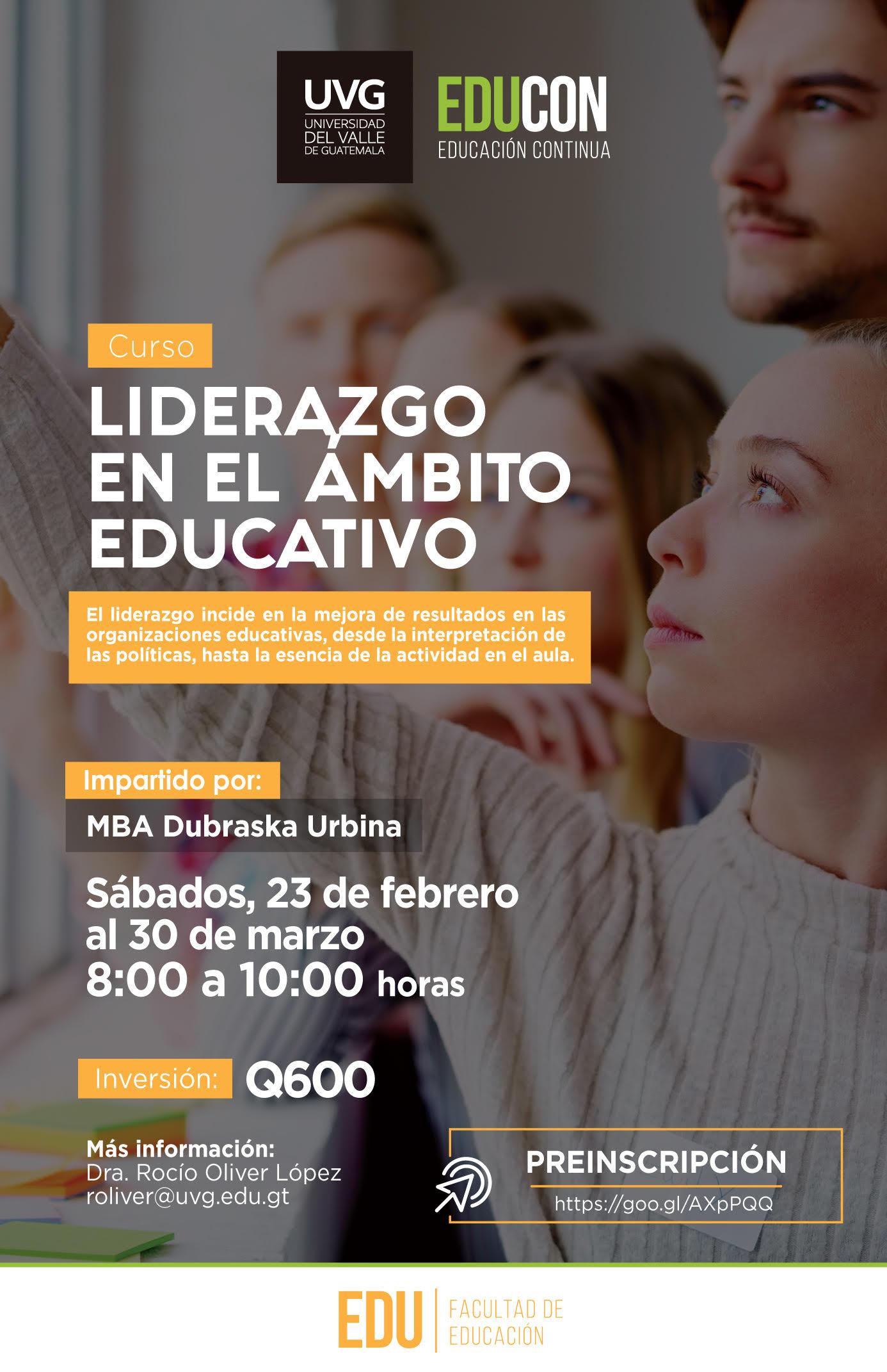 LIDERAZGO EN EL ÁMBITO EDUCATIVO