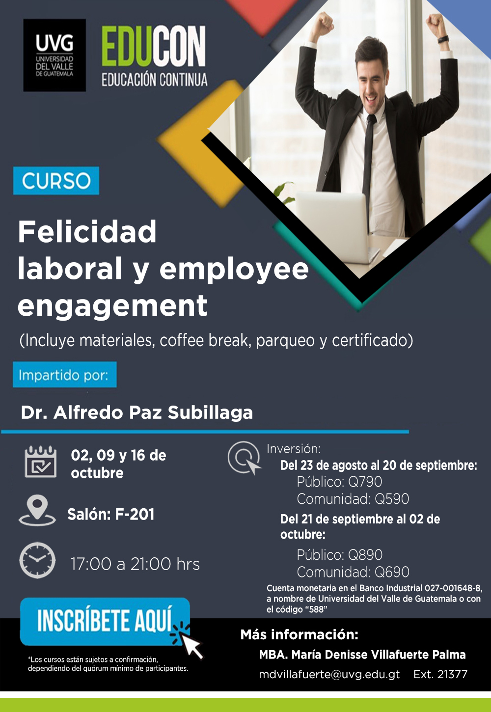 FELICIDAD LABORAL Y EMPLOYEE ENGAGEMENT