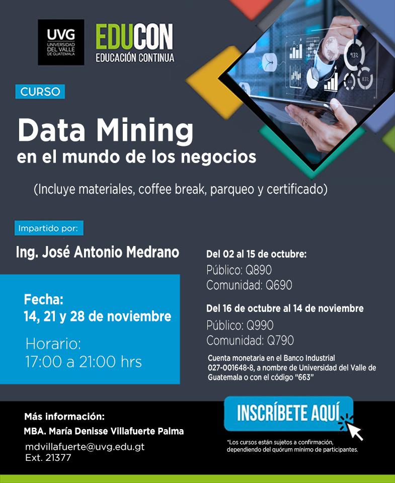 DATA MINING EN EL MUNDO DE LOS NEGOCIOS