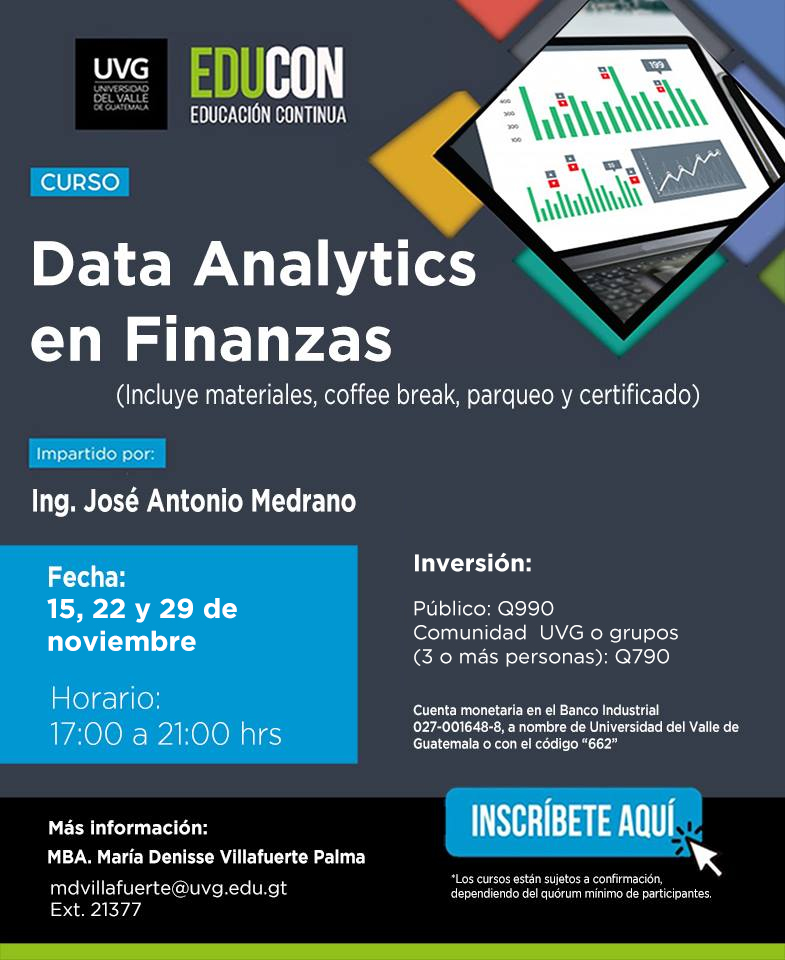DATA ANALYTICS EN FINANZAS