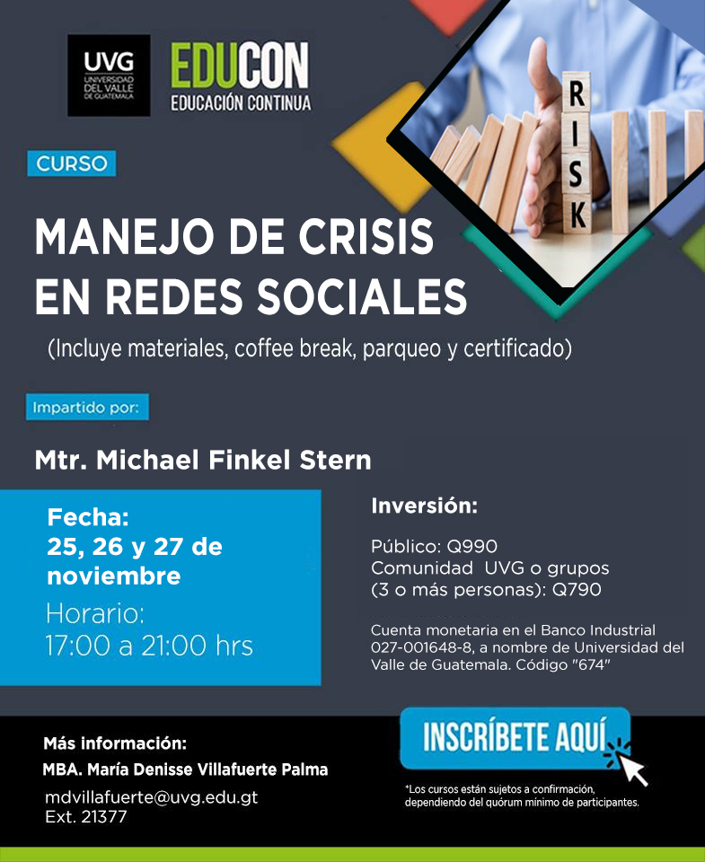MANEJO DE CRISIS EN REDES SOCIALES