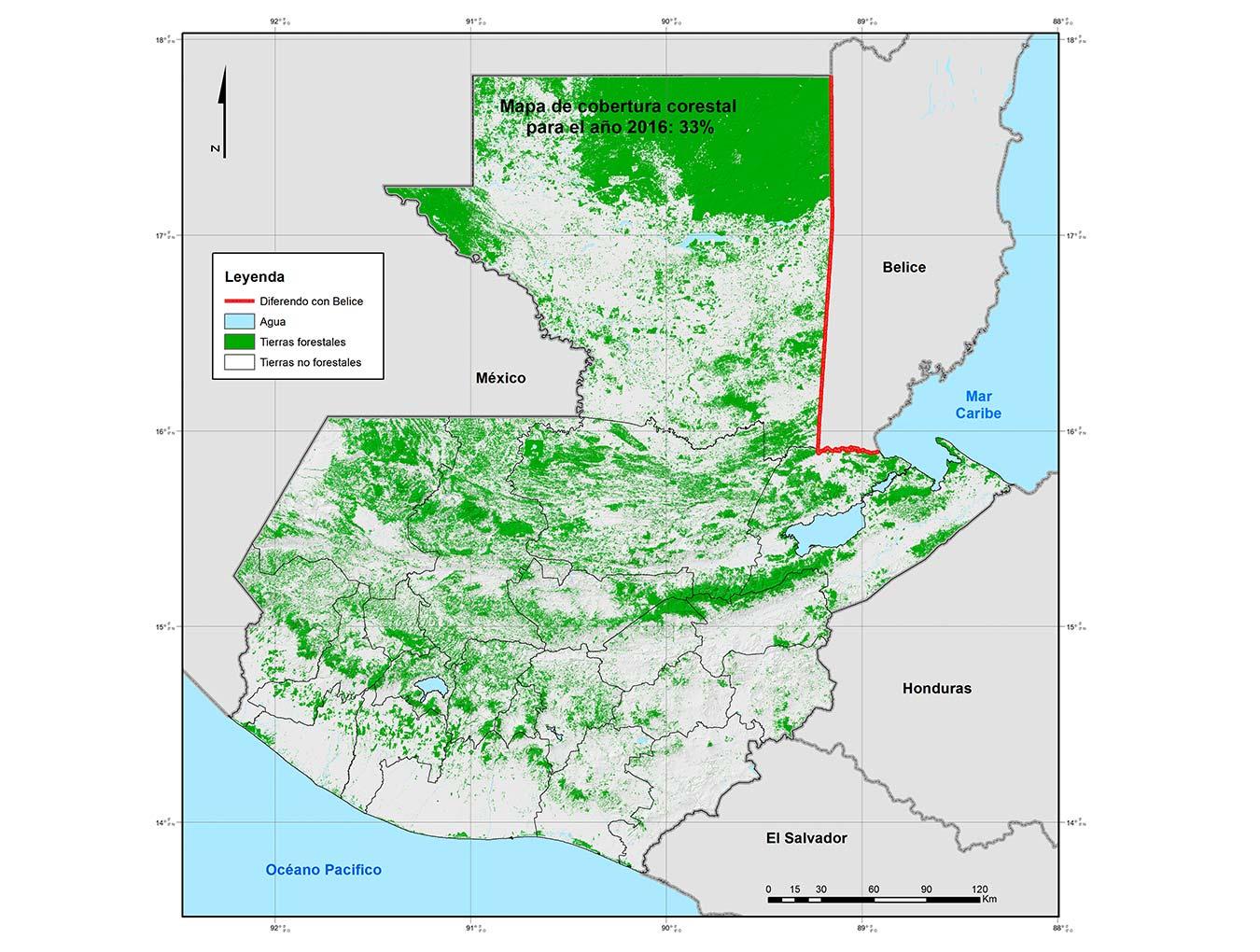 Monitoreo de la cobertura boscosa y usos de la tierra