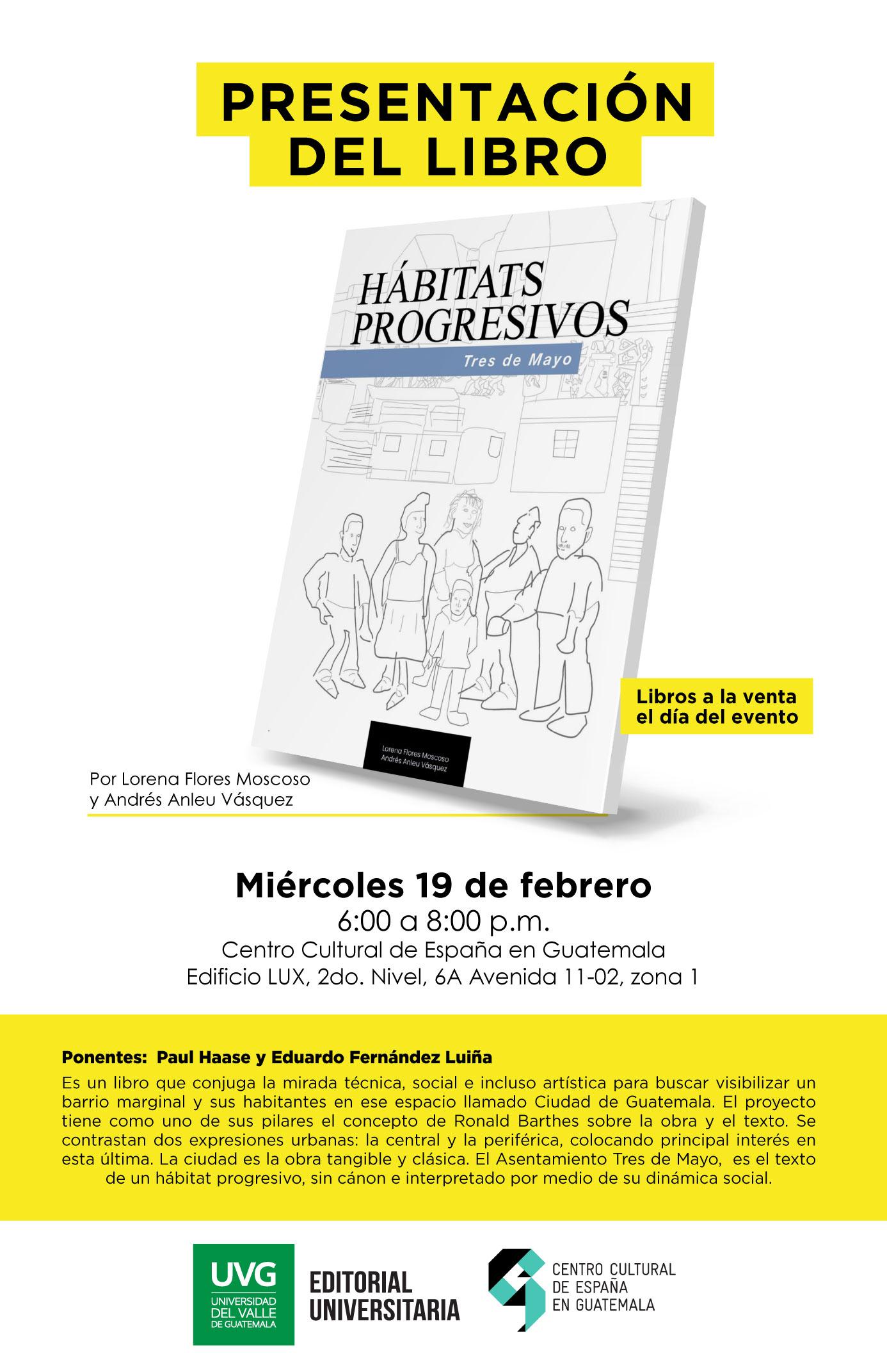 PRESENTACIÓN LIBRO HÁBITATS PROGRESIVOS