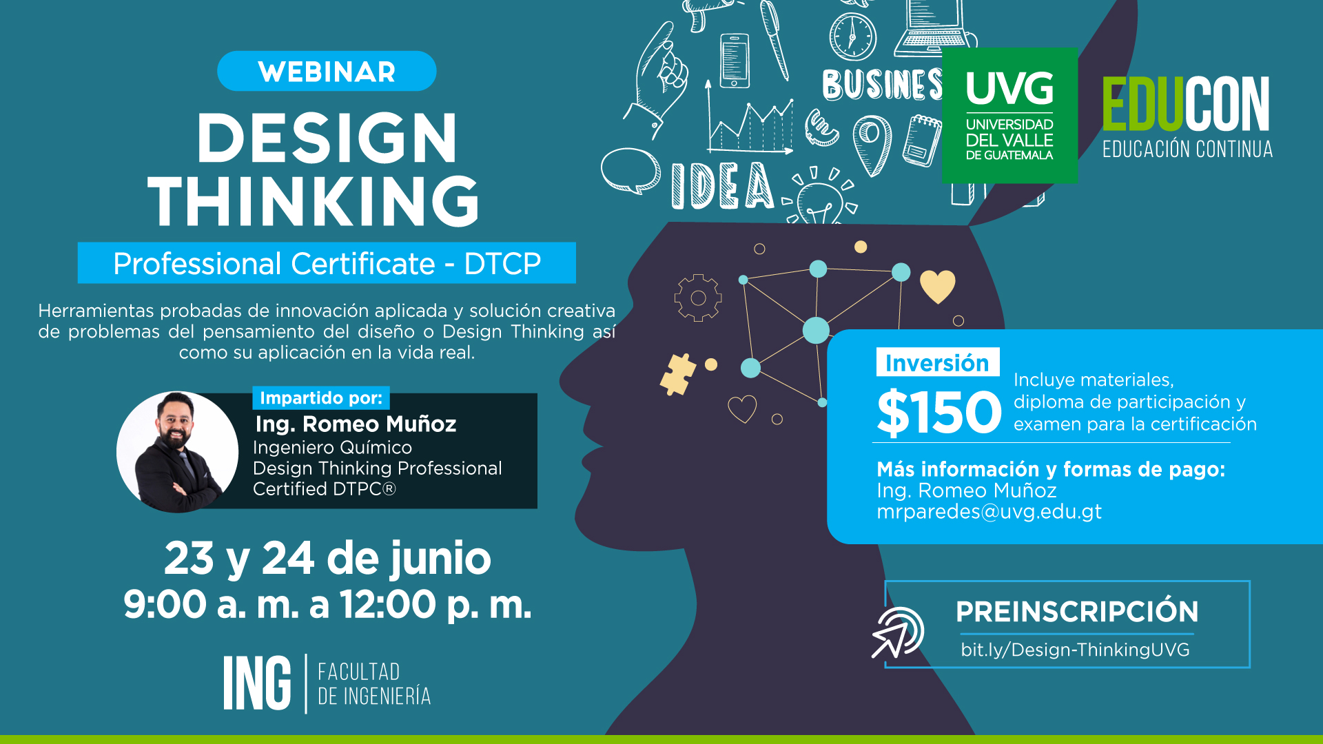 DESIGN THINKING PROFESSIONAL CERTIFICATE - DTCP