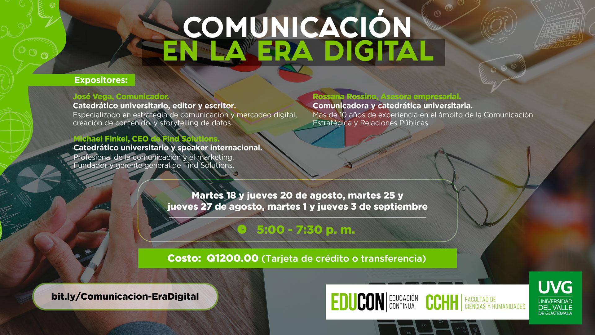 COMUNICACIÓN EN LA ERA DIGITAL