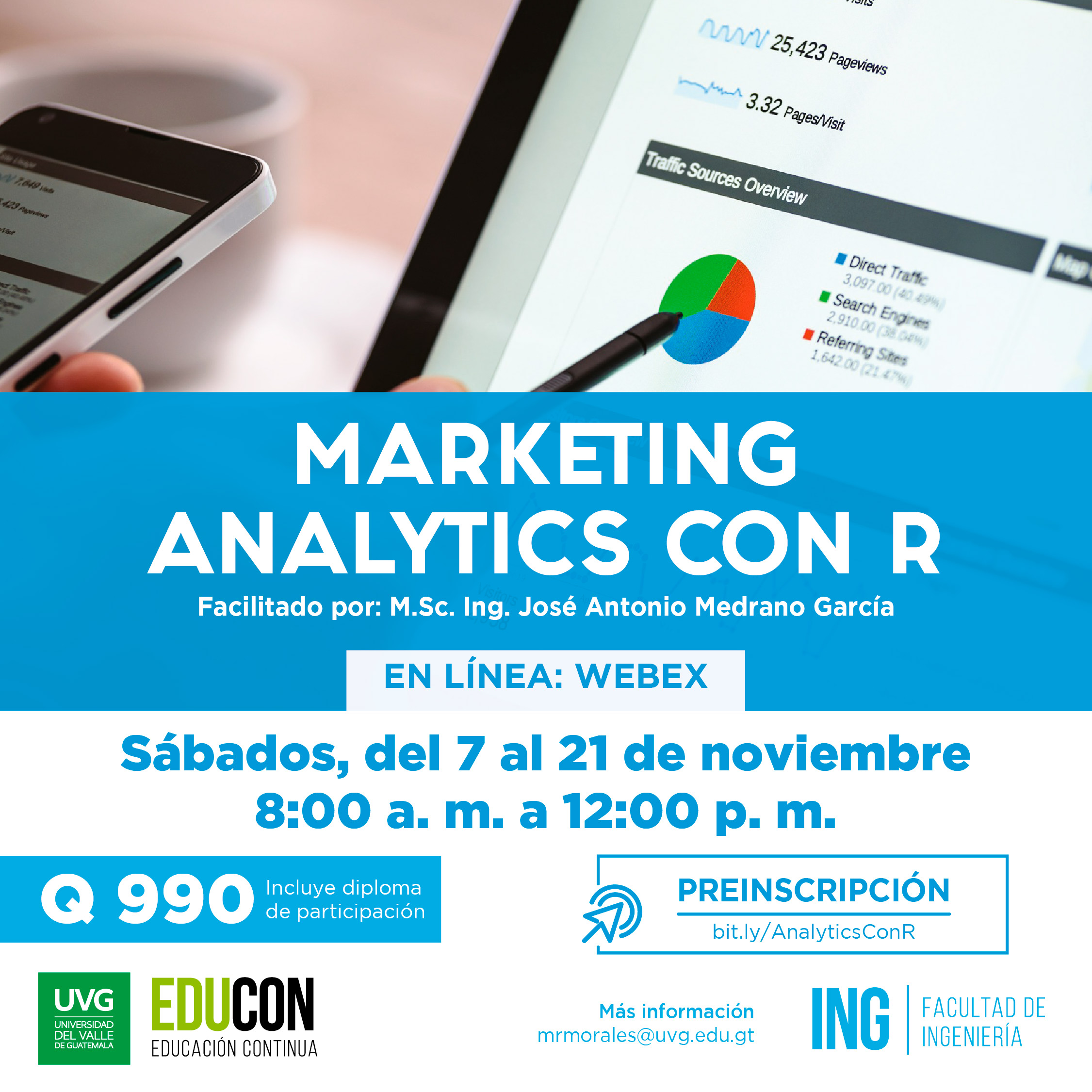 MARKETING ANALYTICS CON R