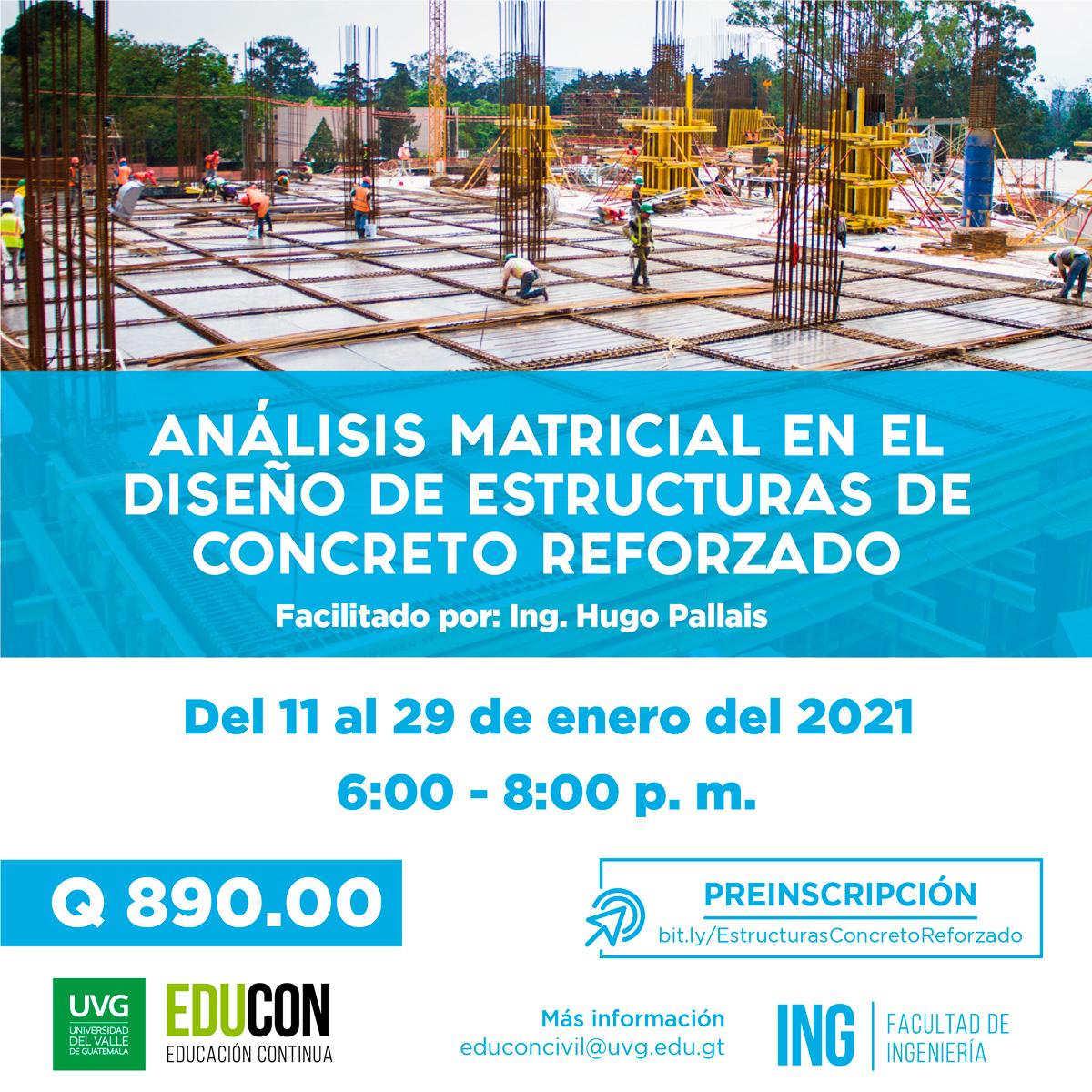 Análisis Matricial en el Diseño de Estructuras de Concreto Reforzado
