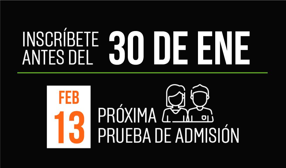 próxima fecha de prueba de admisión UVG enero 2021