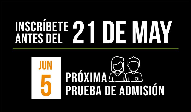 próxima fecha de prueba de admisión UVG abril 2021