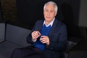 Fernando Paiz durante la entrevista.