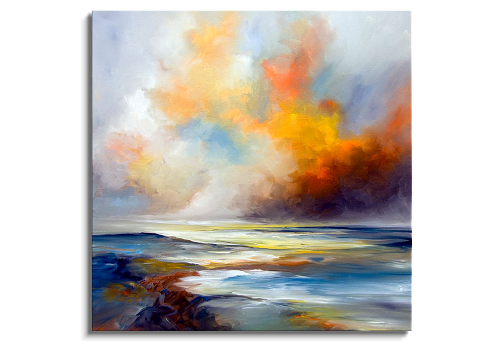 Sun Blazes - Original painting by Alison Johnson