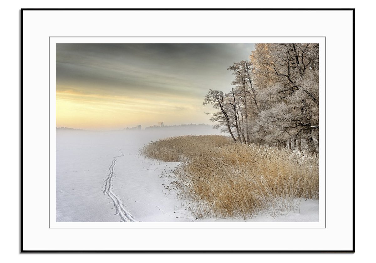Misty Winter Morning by Keijo Savolainen