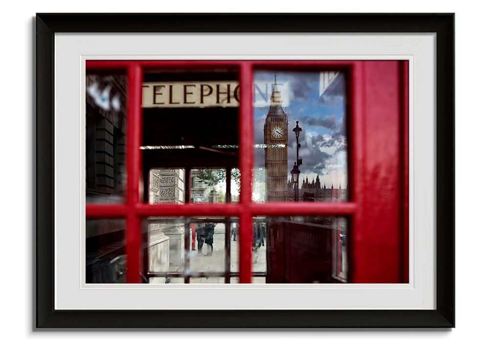 Parliment Phonebox by Alex Saberi