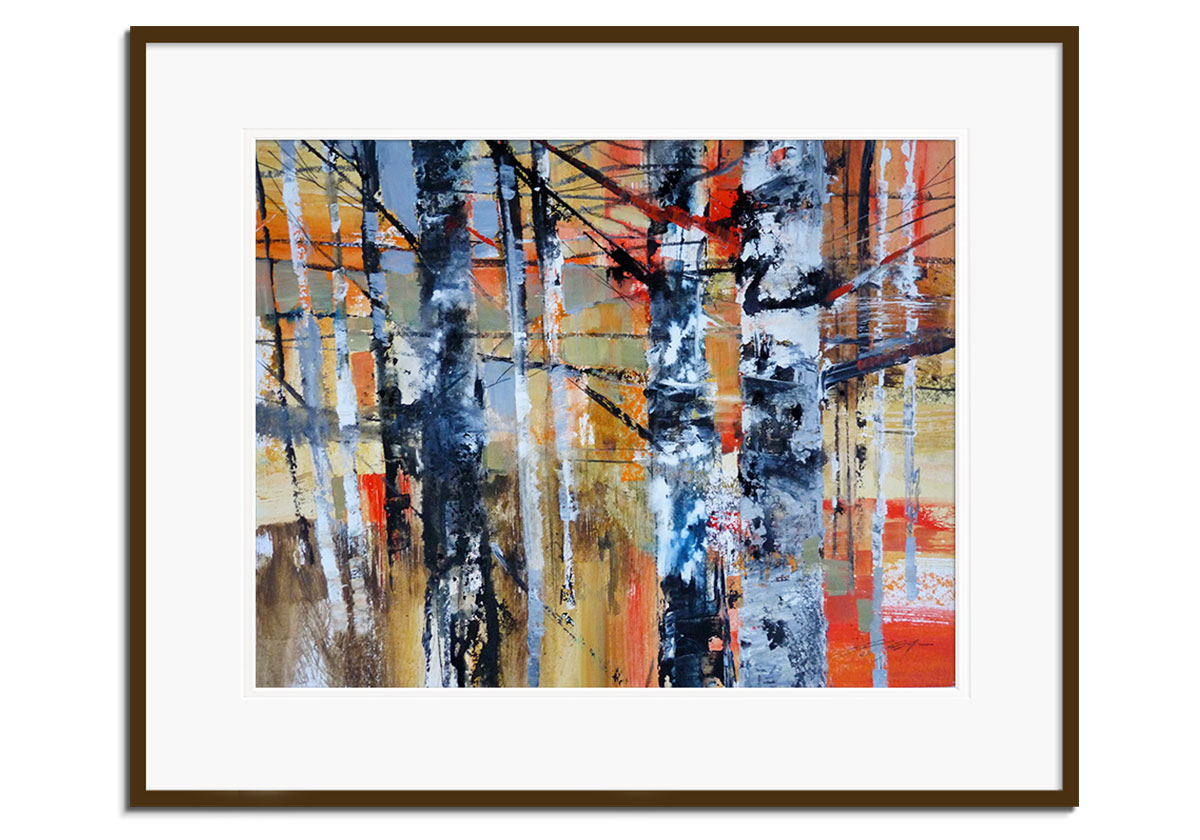 Winter Birch by Chris Forsey