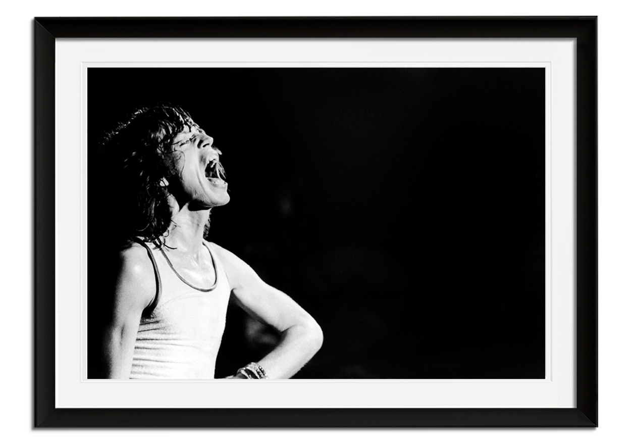 Mick Jagger by Graham Wood