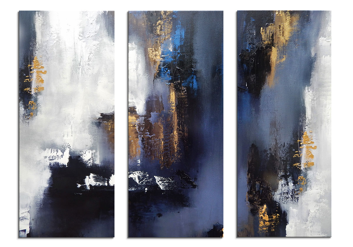 NightCity Triptych by Olena Topliss