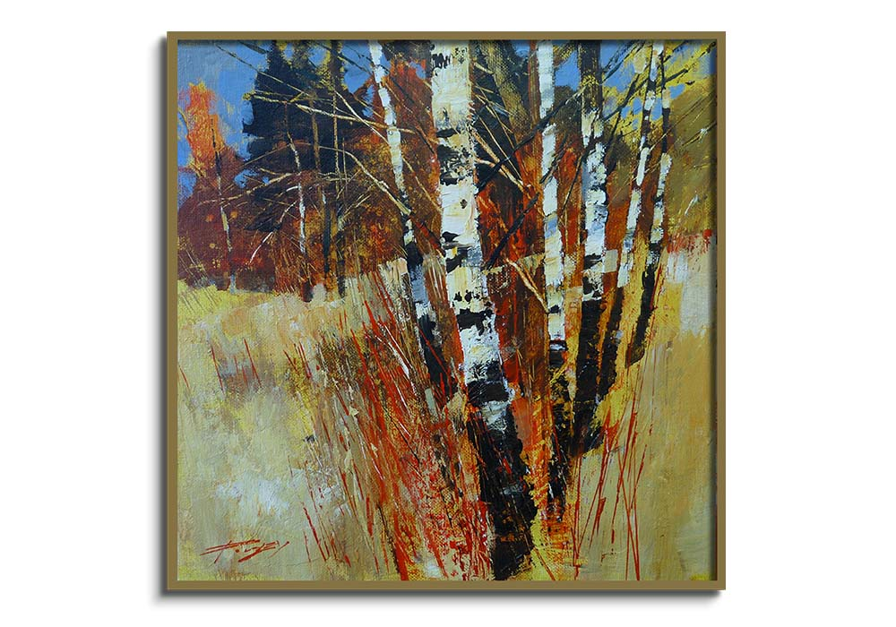 Birch and White  by Chris Forsey