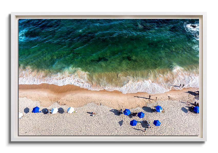 Aerial Beach view  by Uiler Costa