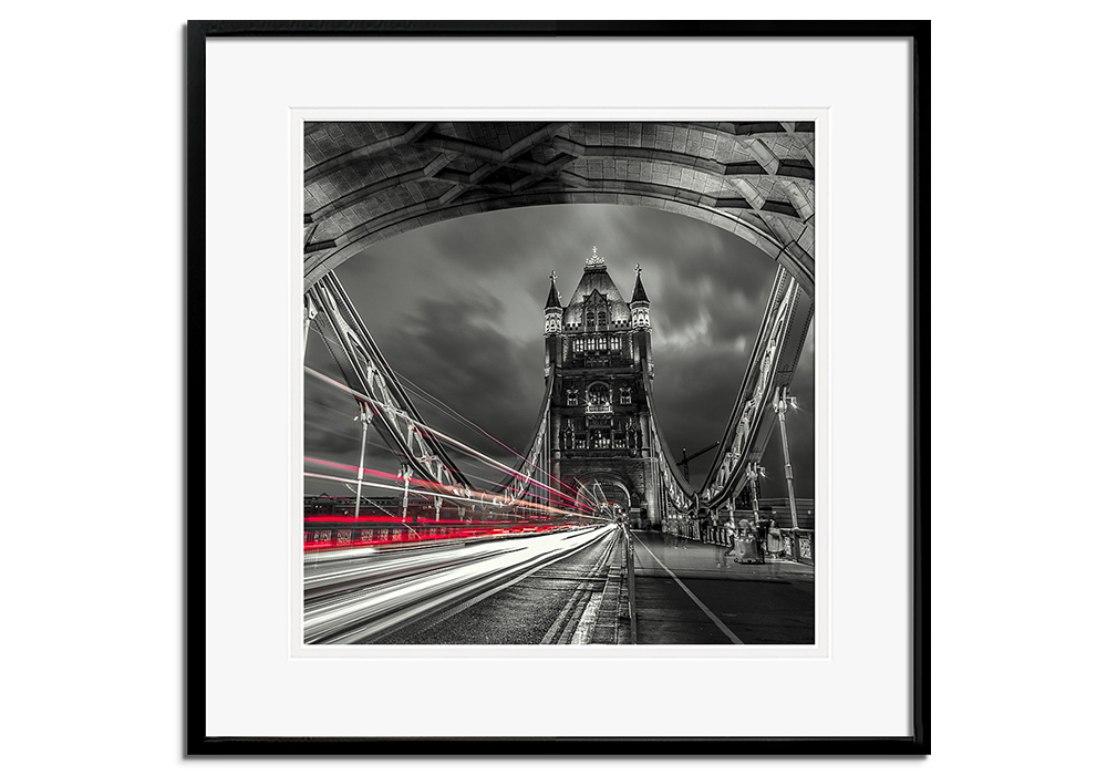 Tower Bridge Lines by Assaf Frank