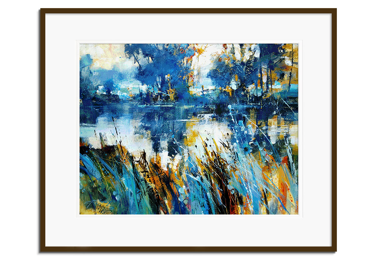 Teal Scape by Chris Forsey