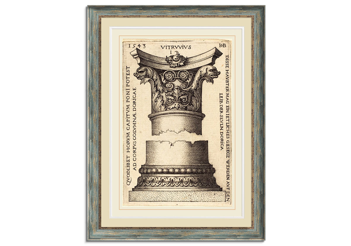 Capital and Base of a Column  by