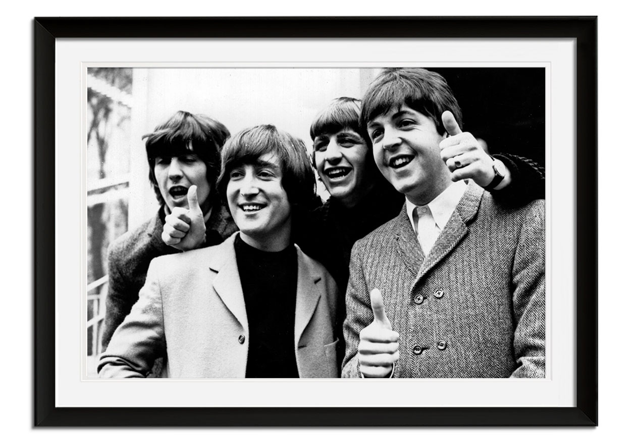 The Beatles at the London Palladium by Getty Images