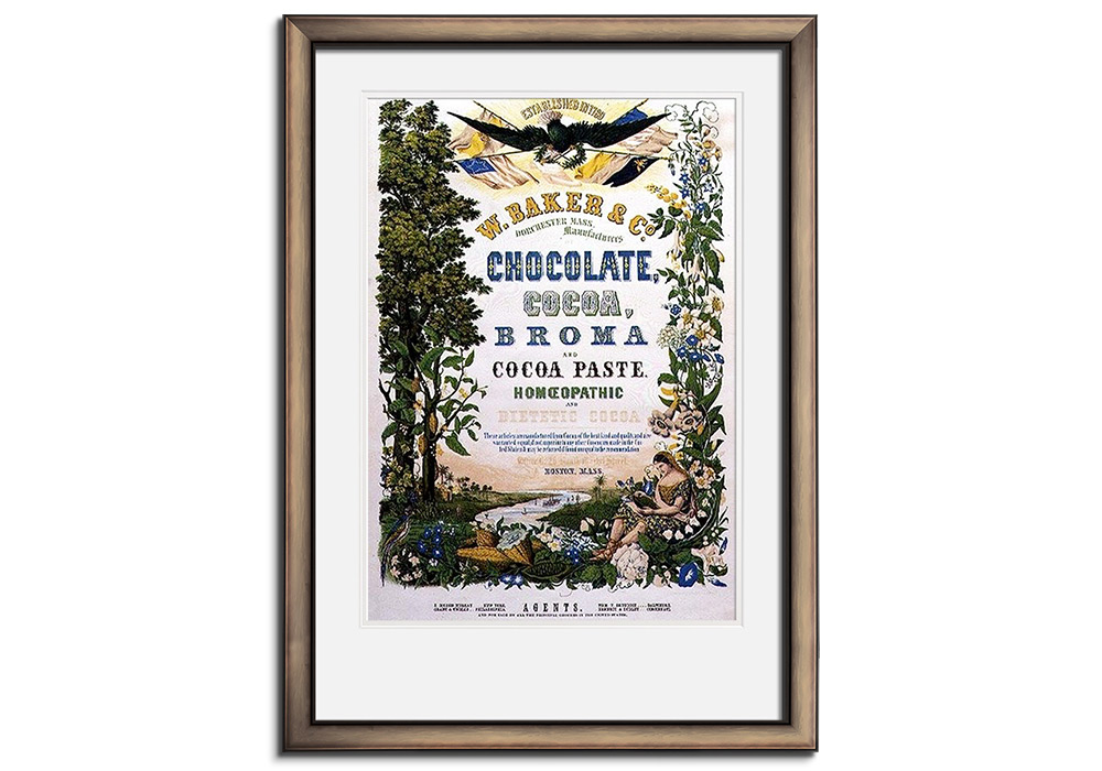 American Chocolate Poster by Anonymous