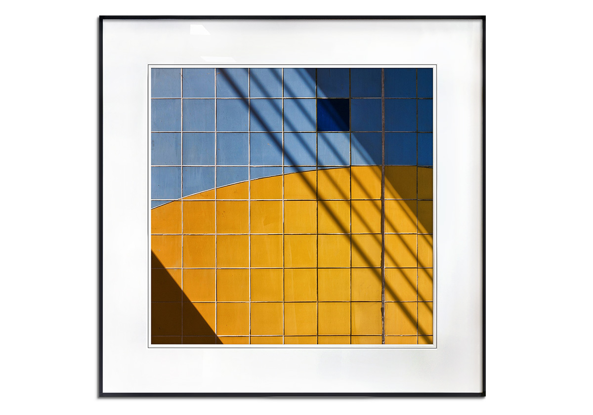 Square Shadow by Henk van Maastricht