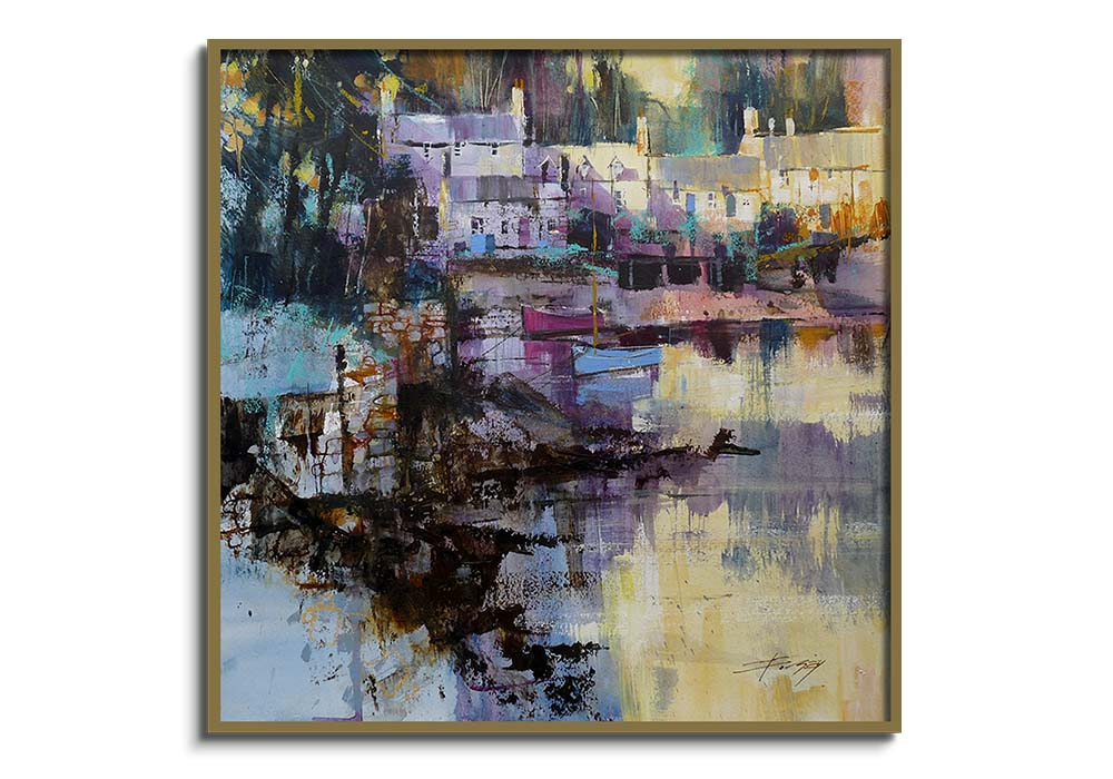 Plockton, end of a fine day  by Chris Forsey