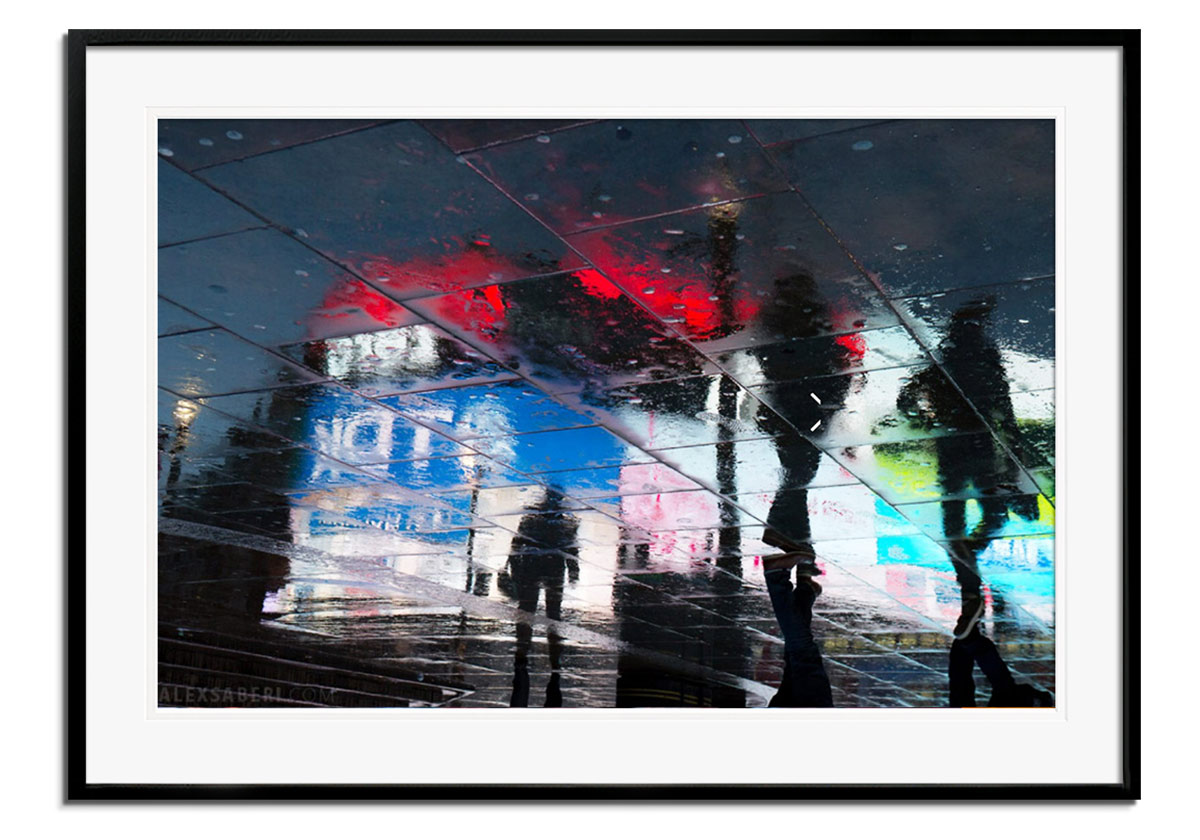 Piccadilly Lights I by Alex Saberi