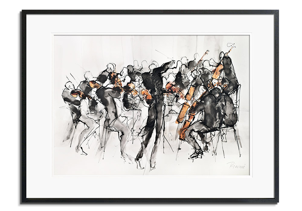 Orchestra IV by Bella Pieroni