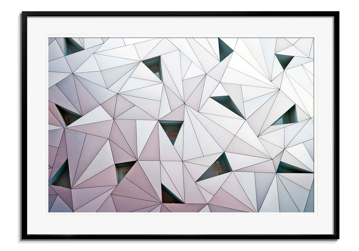 Triangulation 1 by Linda Wride