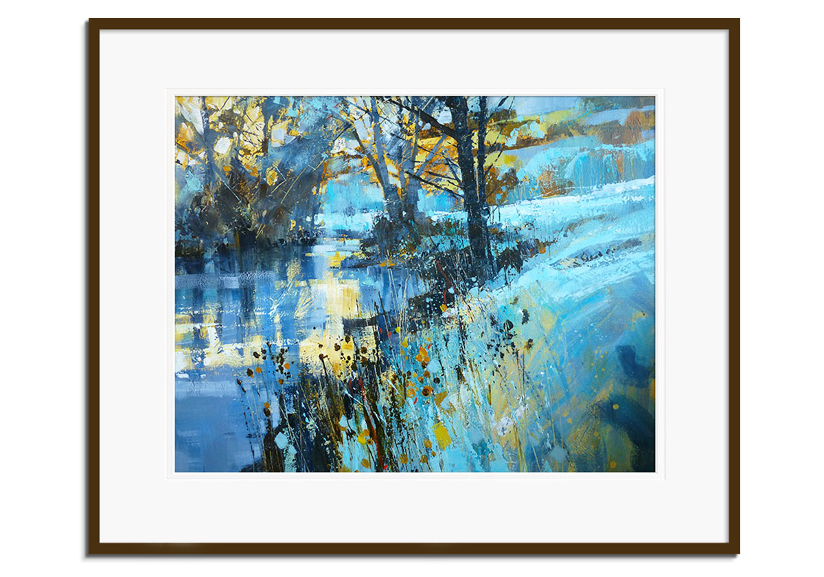 Frost on the River by Chris Forsey