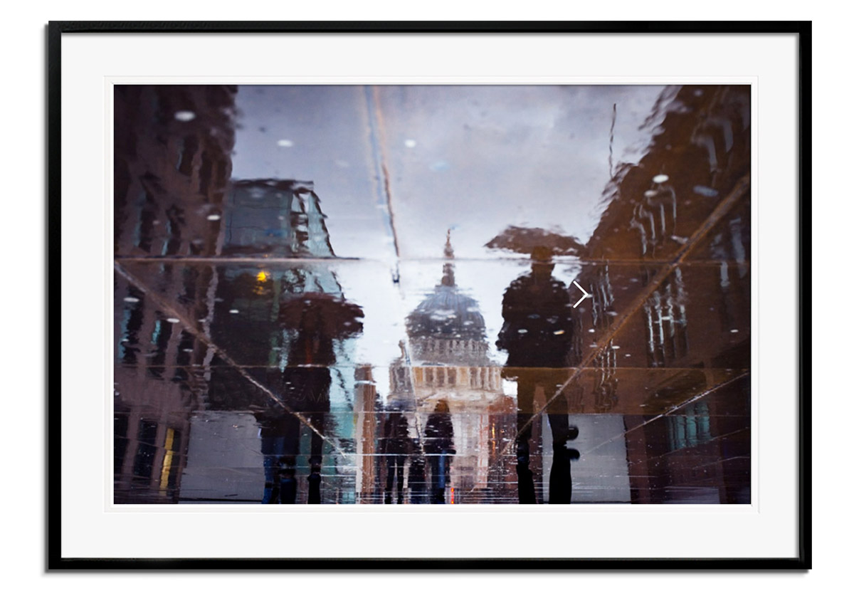 St Pauls Puddles by Alex Saberi