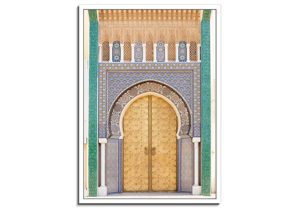 Moroccan Doorway VIII by Lee Frost