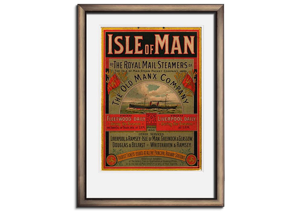 Isle of man by the royal mail by Anonymous