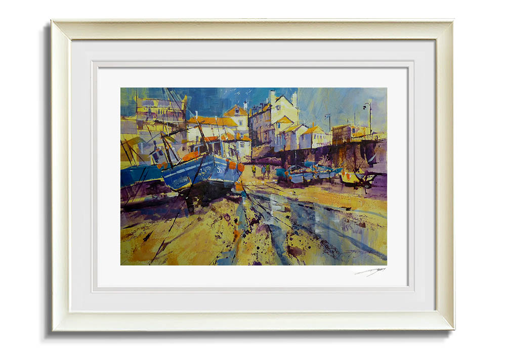 Summer Harbour, St. Ives  by Chris Forsey